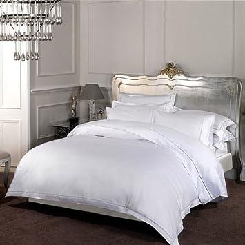 drap plat 100 coton coton gyptien 1000 fils blanc 254 x 290cm cuisine maison m184. Black Bedroom Furniture Sets. Home Design Ideas