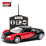 Radio Remote Control 1/14 Scale Bugatti Veyron 16.4 Grand Sport RC Car W/Batteries Ready To Run (Red)