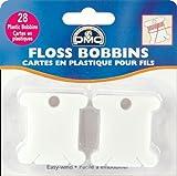 DMC Plastic Floss Bobbins-28/Pkg