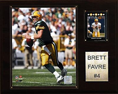 NFL Brett Favre Green Bay Packers Player Plaque