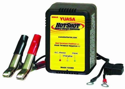 Yuasa Yua1200901 Smart Shot Battery Charger