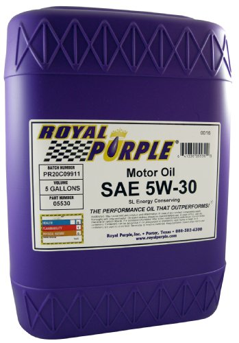 Buy Best Cheap Royal Purple 05530 5w30 Synthetic Motor Oil