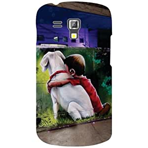Samsung Galaxy S Duos 7582 Back Cover - Child Love Desiner Cases