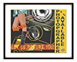 Camera photographer signal fashion models / classic classic design studio workplace wall decor