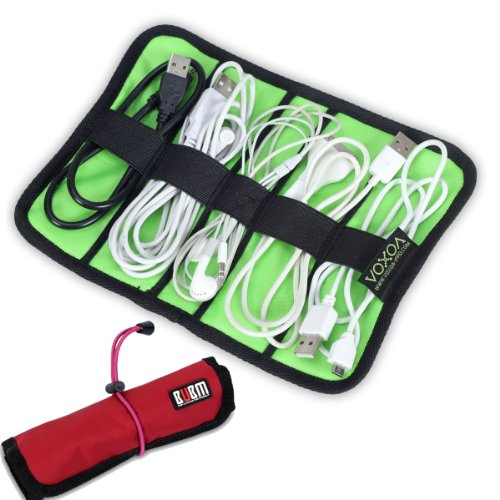 Damai Universal Cable/Pens Organizer Stable/ Baby Healthcare & Grooming Kit (Small, Red) front-737930