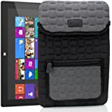 Housse Etui Tablette Microsoft Surface 2, RT & Pro 2, Pro / Dell Venue Pro 11, XPS 10 / Acer Iconia A700 et bien plus de Tablettes - Protection renforcé en néoprène - FlexARMOR X Par USA GEAR