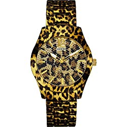 GUESS Analog Multi-Color Dial Womens Watch - W0001L2