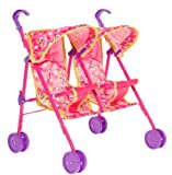 Minnie Mouse Bow-Tique Twin Dolls Stroller Buggy pushchair.
