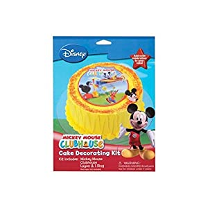 Mickey Friends Mickey Mouse Clubhouse Cake Kit ~ Cake/Cupcake Decorating Topper