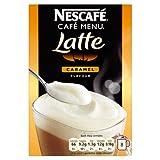 Nescafé Café Menu Latte Caramel 8 Sachets 136 g (Pack of 6, Total 48 Sachets)