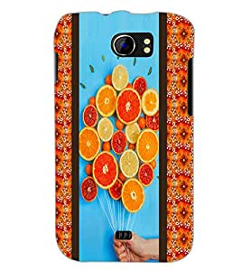 PrintDhaba Leamons D-3758 Back Case Cover for MICROMAX A110 CANVAS 2 (Multi-Coloured)