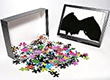 Photo Jigsaw Puzzle of Silhouette of Cap...