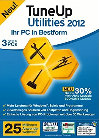 TuneUp Utilities 2012 (3 Plätze)