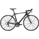 メリダ(MERIDA) ロードバイク SCULTURA 100 マットブラック(シャイニーブラック/グレー) 50サイズ