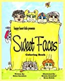 Sweet Faces Coloring Book