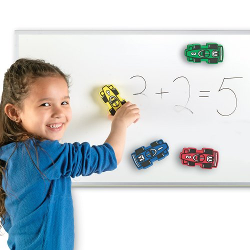 Learning Resources Magnetic Whiteboard Erasers - 1