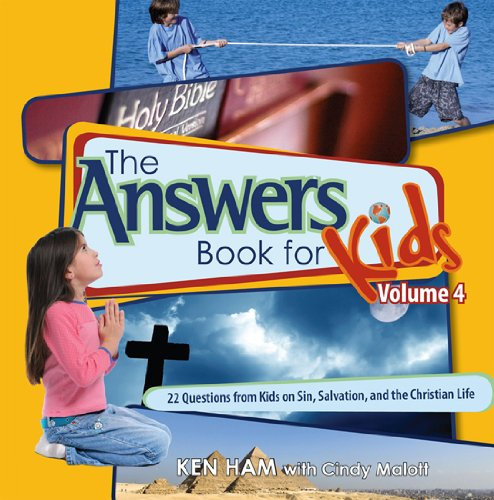 Answers Book for Kids Vol 4 - Sin Salvation and the Christian Life089051545X : image