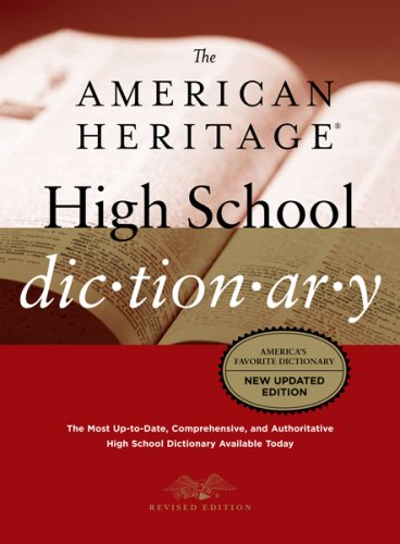The American Heritage High School Dictionary, Fourth Edition