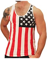 American Summer US Flag Men's Tank Top