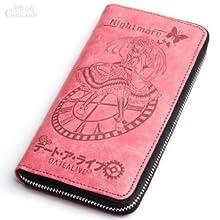 Xcoser デートアライブDATE A LIVE 時崎狂三 最新人気財布 長財布 バッジ財布 キャラクター 徽章wallet