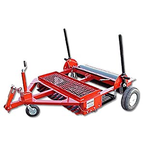 Dirt Doctor Infield Groomer 6ft - 3 pt Hitch by NEWSTRIPE