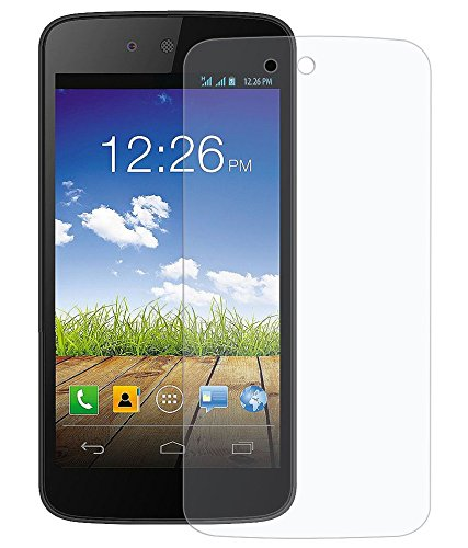 Totelec Premium Pack of 2 HD Clear Screen guard for Micromax Canvas A1 Android 1