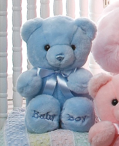 Aurora Plush Baby 10 inches  Comfy Blue Baby