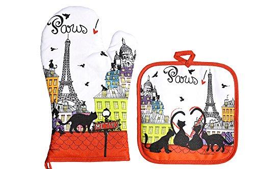foxtrot-8780toit-gant-et-manique-toit-paris-coton-multicolore-20-x-20-cm