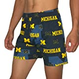 NCAA Mens Michigan Wolverines Cotton Sleepwear / Pajama Shorts - Multicolor (Size: S) at Amazon.com