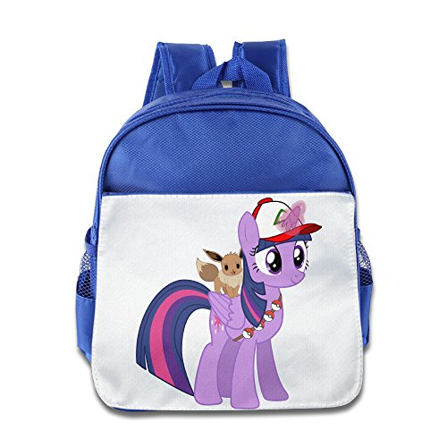JXMD Custom Superb Poke Horse Teenager Schoolbag For 1-6 Years Old RoyalBlue