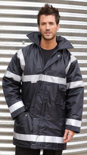Mens Result Work-guard Management Coat XXX-Large Navy Blue