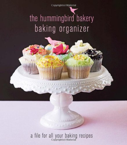 The Hummingbird Bakery Baking Organizer: a file for all your baking recipes