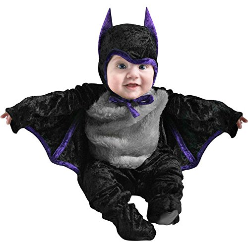 Cute Infant Bat Baby Halloween Costume, 12-18 Months