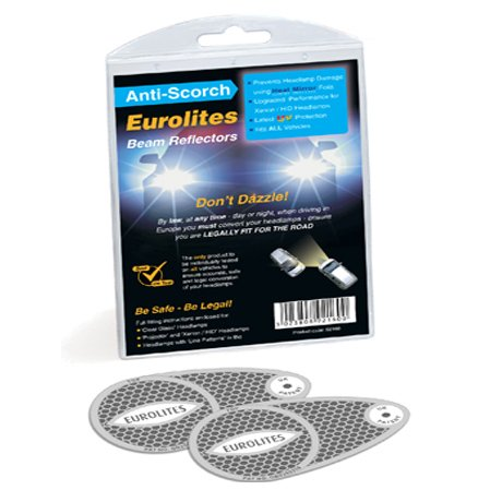 Headlight Adaptors Eurolites Anti-scorch Deflectors For European Driving