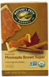 Nature's Path Organic Frosted  Mmmaple Brown Sugar Toaster Pastries, 6 count