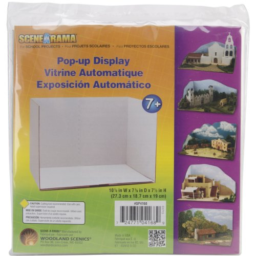 "Pop Up Display 10-3/4""X7-3/8""X7-1/2""- - 1"