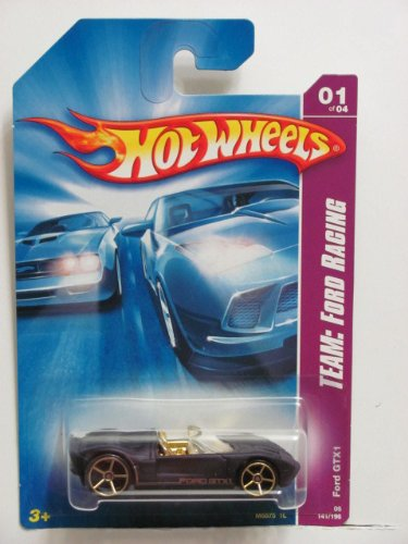 HOT WHEELS FORD GTX1 #01 OF 04; TEAM: FORD RACING 2007; 1/64 SCALE