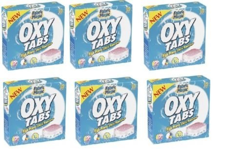 6-x-fabric-magic-oxy-tabs-high-power-laundry-stain-remover-10-x-20g-tabs-each