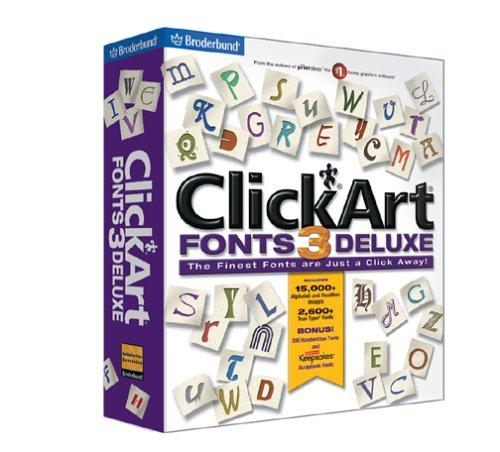 ClickArt Fonts Deluxe 3B00009APNA