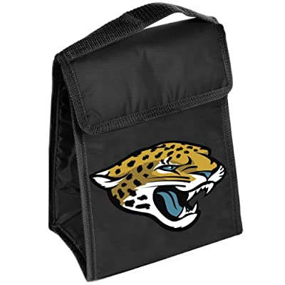 Forever Collectibles NFL Big Logo Velcro Lunch Bag