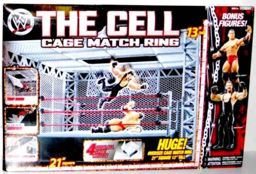 Sale alerts for World Wrestler Entertainment JAAKKS Pacific Inc Jakks Wwe The Cell Cage Match Ring With Bouns Randy Orton And Undertaker Figures - Covvet