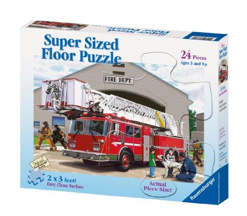 Cheap Fun Ravensburger Fire Engine – 24 Piece Floor Puzzle (B0006G2OZC)