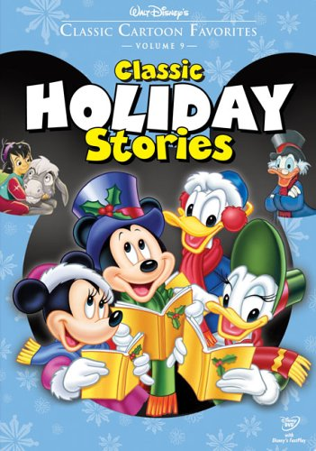 Cover art for  Classic Cartoon Favorites, Vol. 9 - Classic Holiday Stories (The Small One/Pluto's Christmas Tree/Mickey's Christmas Carol)