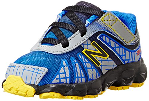New Balance Kv890 Infant Hook And Loop Running Shoe (Infant/Toddler),Blue/Black,9 M Us Toddler front-940778