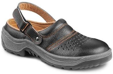 lkw arbeitsschuhe bequeme clogs sandalen mit stahlkappe f r trucker leder schuhe. Black Bedroom Furniture Sets. Home Design Ideas