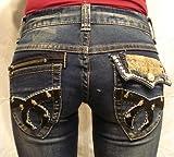 [レッドペッパージーンズ]REDPEPPERJEANS 正規品#5726 バックポケット刺繍 モチーフ刺繍 タイトストレートジーンズ パンツ レディース RED PEPPER JEANS デニム パンツ ジーパン ブランドジーンズ