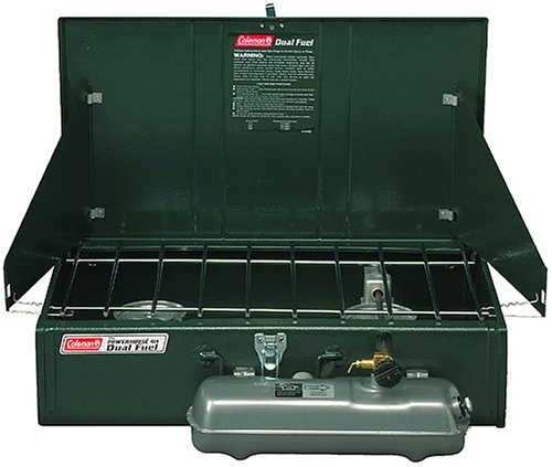 Coleman 2-Burner Dual Fuel Powerhouse Liquid Fuel Stove