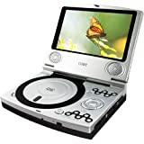 Coby TF-DVD7100 Portable DVD Player ~ Coby