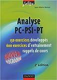 echange, troc Jean-Marie Monier - Exercices de mathématiques : Analyse PC-PSI-PT, 2e année