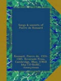 Songs & sonnets of Pierre de Ronsard